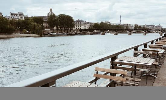Restaurant : Maison Maison  - Maison Maison – restaurant bistronomique - terrasse bord de Seine - bar à cocktails & tapas – Pont-Neuf – Paris 1 – Chatelet -   © Maison Maison