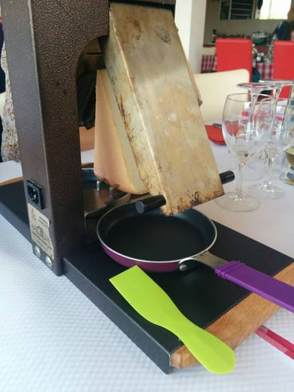 Plat : O Chalet  - Raclette  -