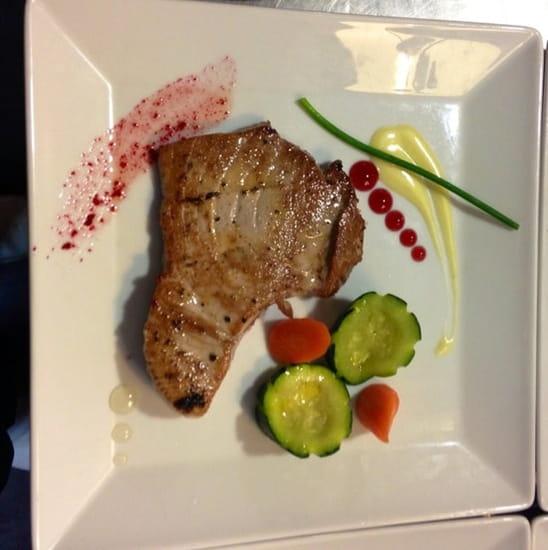 Plat : La Llonja  - Steak de thon rouge  -