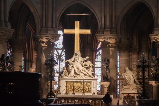 La Pietà du choeur de Notre-Dame