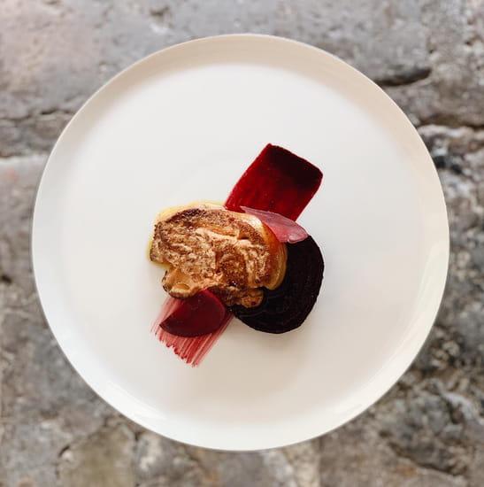 Entrée : Le Moulin de Ponceau  - Foie gras poêlé -   © Le moulin de ponceau