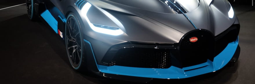 Bugatti Divo : nos photos de la supercar à Paris