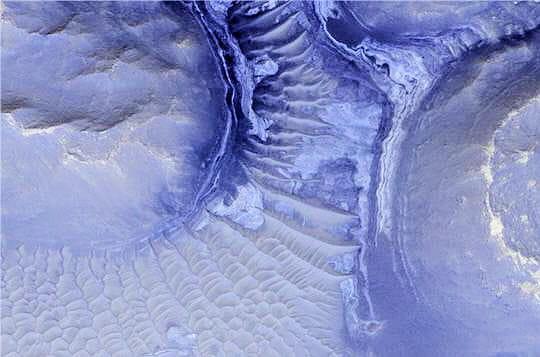 Relief Mars