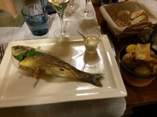Plat : Le Cabanon des Pêcheurs  - Bar entier -