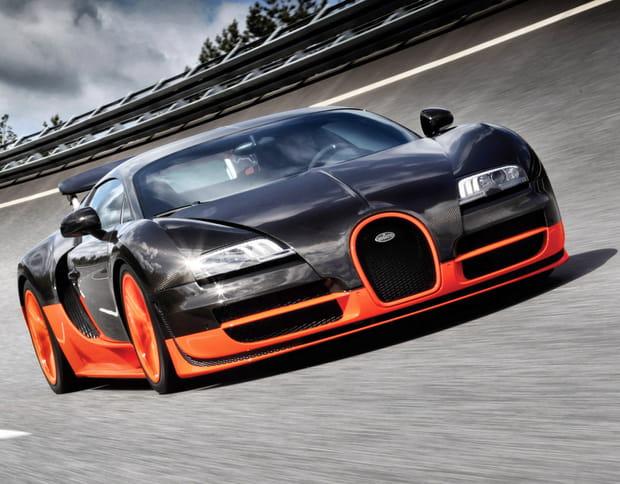 bugatti veyron 16.4 super sport : 431 km/h