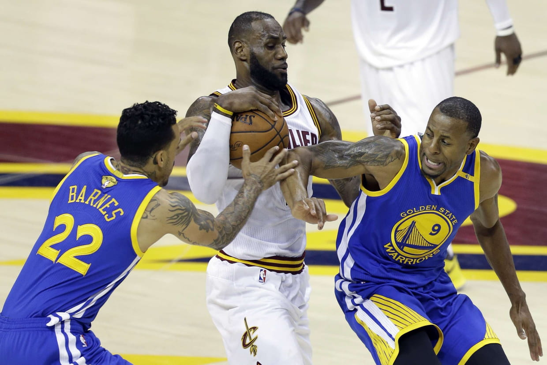 Finale de la NBA: Cleveland fait revenir Golden State brutalement sur terre