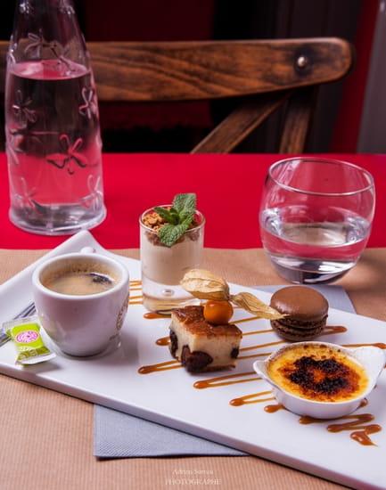 Le Bistrot du Quai  - Café gourmand -   © Adrien Sureau