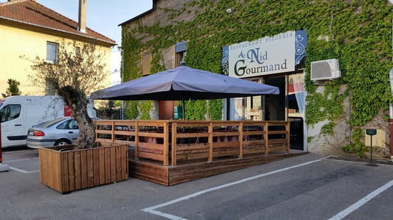 Au Nid Gourmand  - terrase -