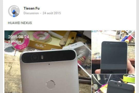 Nexus 6 par Huawei : pourquoi cette proéminence à l'arrière du smartphone Google ?