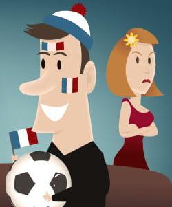 concilier soirées foot et paix des ménages, un jeu d'enfant !