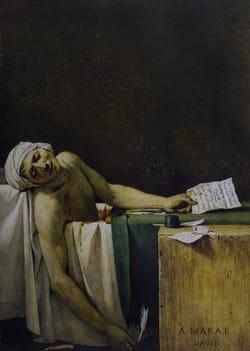 Marat assassiné tableau
