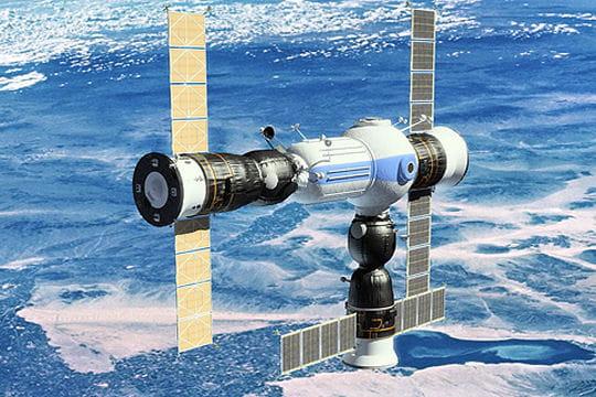 Voyage vers la station spatiale commerciale