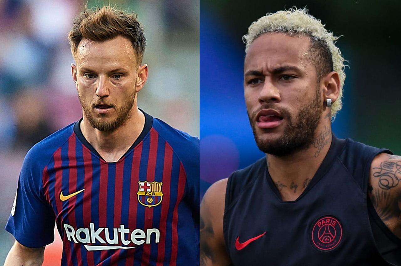 Neymar: le Barça propose deux options au PSG, Rakitic dans le deal