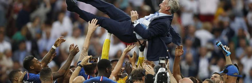 Les Bleus champions du monde, les plus belles images