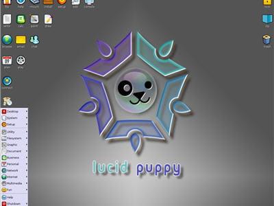 aperçu de la distribution puppy linux