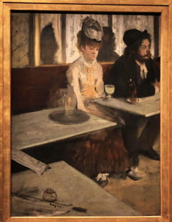 Edgar Degas - L'Absinthe