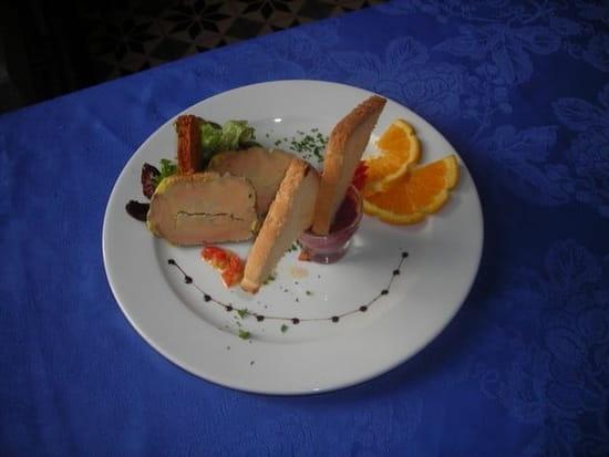 Le Clos de la Bussière  - Assiette de Foie Gras au pain d'épice -
