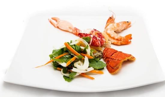 Restaurant Albert 1er  - Salade Royale Homard -   © Cook&Shoot