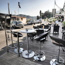 Le Spot  - Vue de la terrasse du restaurant Le Spot -