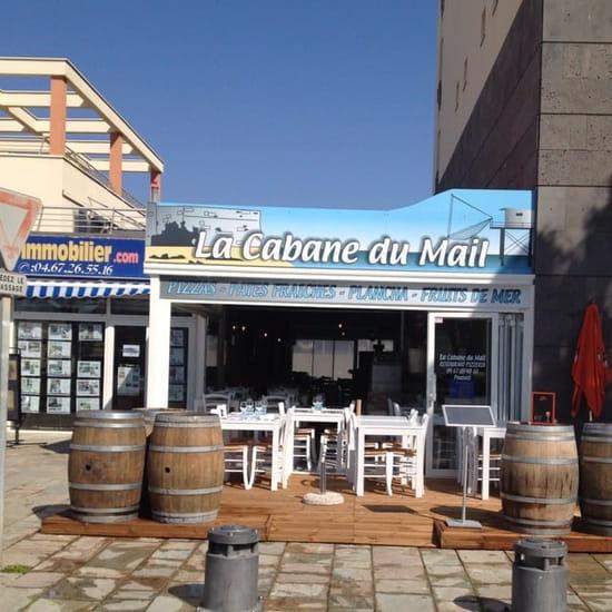 Restaurant : La Cabane du Mail  - La terrasse -