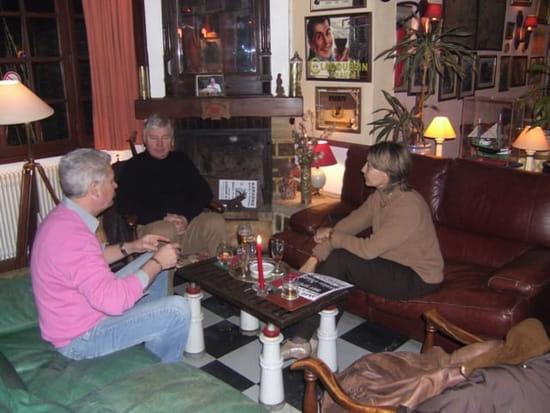 Auberge Du Domaine Du Lac  - Salon au coin de la Cheminée -