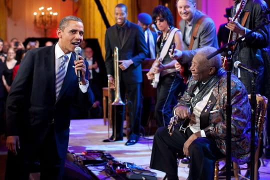 B. B. King: quand Barack Obama chantait avec la légende du blues