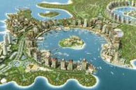 Visitez les îles artificielles The Peal au Qatar