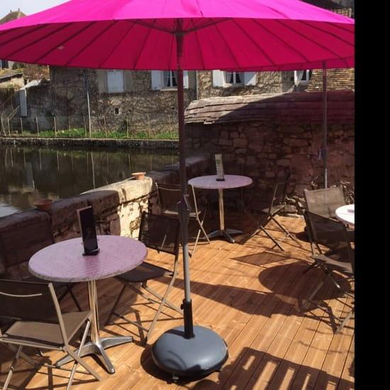Restaurant : Nature' L  - Terrasse au bord de l'eau  -