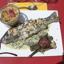 La Framboise  - Truite de montagne ardéchoise -   © ferme auberge bio la framboise