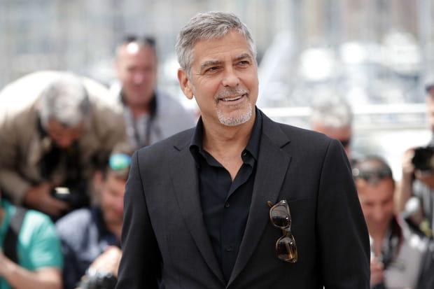 George Clooney, look relax sur la Croisette