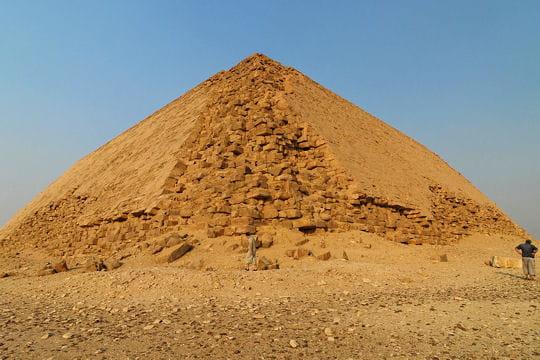La pyramide rouge de Dahchour