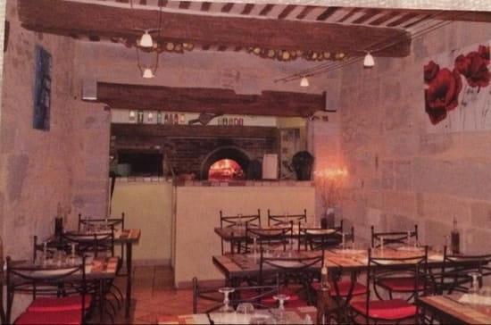 Restaurant : Pizzéria de la Tour  - Intérieure  -