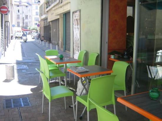 Bar snack pizzeria La Cabane  - la terrasse  -