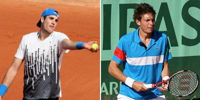 john isner et nicolas mahut ont marqué l'histoire du tennis en restant sur le