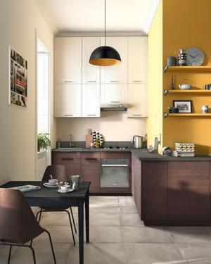 petite cuisine ouverte fonctionnelle - Amenagement Cuisine Ouverte Avec Salle A Manger