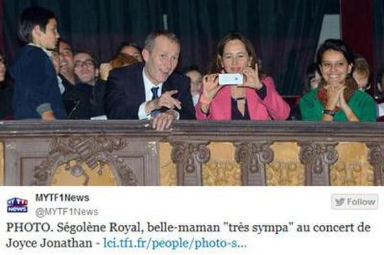 Ségolène Royal fan de Joyce Jonathan, sabelle-fille