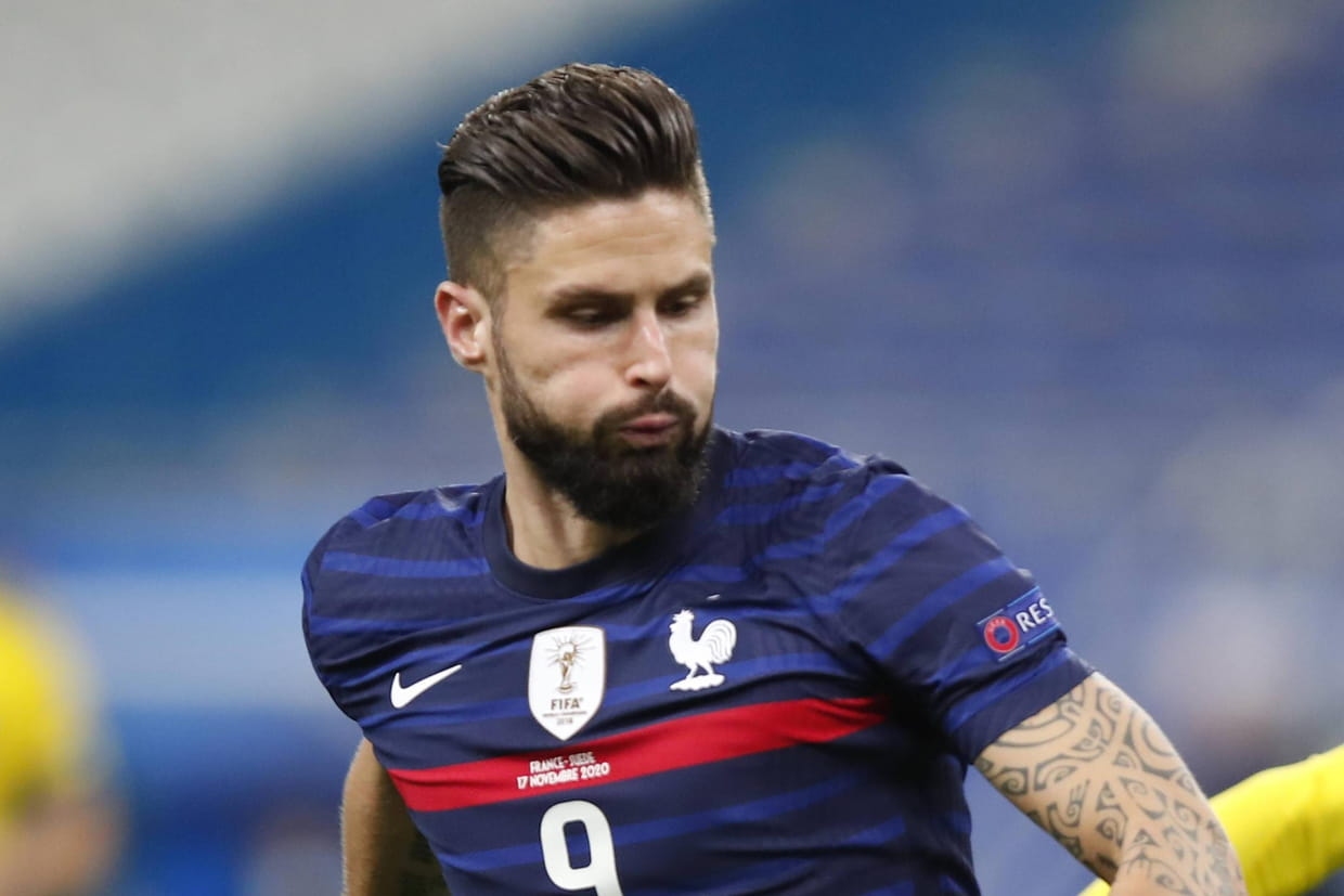 France Suede Notes Resume Giroud Et Thuram Ont Brille