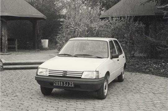 La Peugeot 205fête ses 30ans
