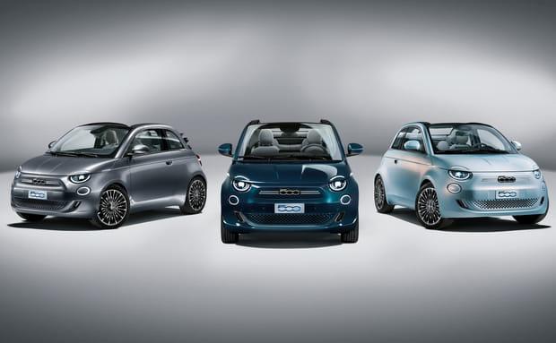 Fiat dévoile la nouvelle 500entièrement électrique