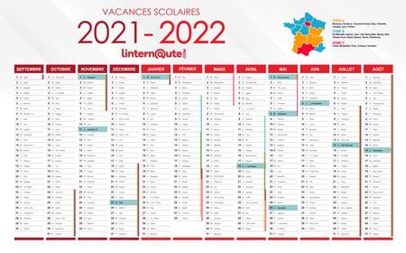 Calendrier Deb 2022 Vacances scolaires : imprimez ou téléchargez le calendrier