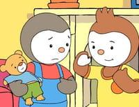 T'choupi et ses amis : La bataille de polochons