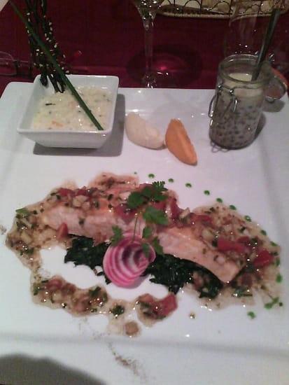 Plat : La Gourmandine  - Saumon -
