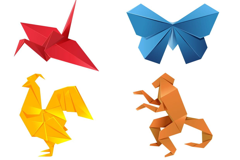 origami pliage papier id es de cr ations et conseils. Black Bedroom Furniture Sets. Home Design Ideas