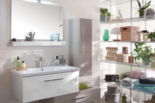 Une salle de bains v g tale for Nouvelle tendance salle de bain 2015