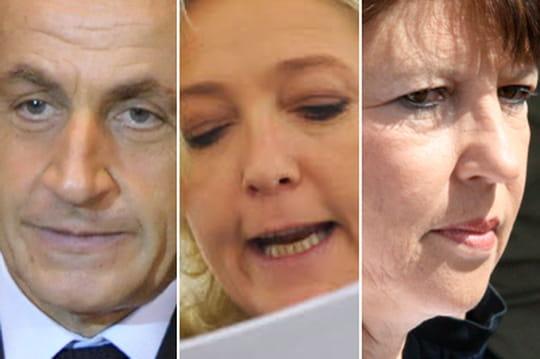 Marine Le Pen, Nicolas Sarkozy, Martine Aubry: lesméchants delapolitique
