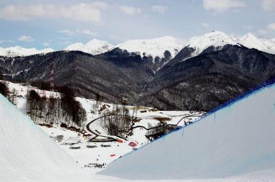 Le complexe Rosa Khoutor pour le ski alpin etlesnowboard.