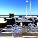 Restaurant : Le Paseo - Cocktail club & restaurant (Ex : LE SUD)  - Terrasse vue mer -   © Le Paseo - Cocktail club & Restaurant