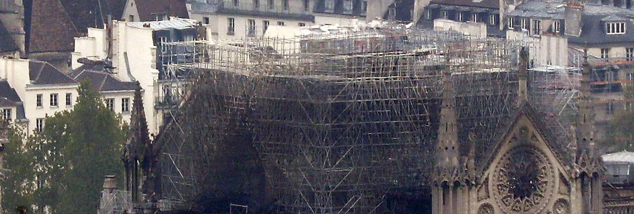 Après les flammes, les images de Notre-Dame dévastée