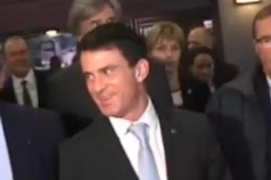 Manuel Valls: il s'incruste endirect sur France3ausalon de l'Agriculture