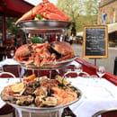 Café de Saint Malo  - Plateau de fruits de mer -   © panoramix